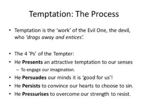 Prayer For Strength To Resist Temptations