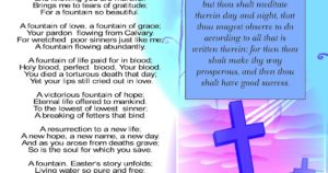 Prayer For The Easter Holiday