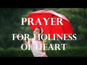 Prayer To Walk in Holiness