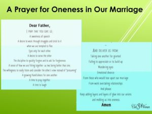 Prayer For Reconciliation In Our Marriage.
