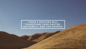 For Prayer Volunteers to Pray in Your Will