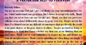 Prayer to Forgive Others