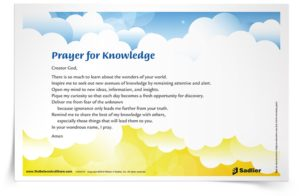 Prayer For Knowledge At Work
