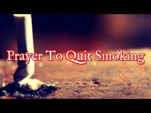 Christian's Prayer To Quit Smoking