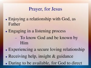 Prayer For A Fruitful Relationship