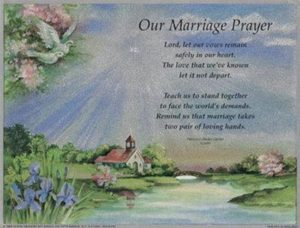 Our Daily Prayer In Our Marriage Together