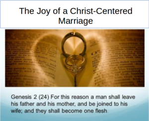 Prayer For A Christ-Centered Marriage