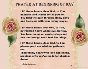 Prayer For Colleagues At The Start Of A Day