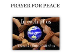 Prayer For Peace In A World In Turmoil
