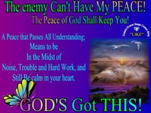God's Peace That Passes Understanding