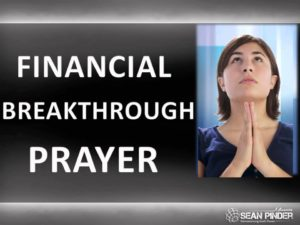 Prayer for Financial Difficulties