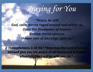 Prayer For God's Peace Within