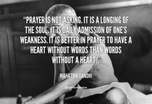 Prayer In Times of Weakness