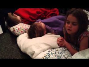 Prayer With Children at Bedtime