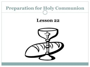 Prayer To Prepare For Communion