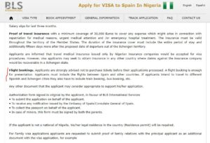 Prayer For Visa Processing And Application