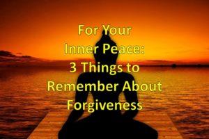 Prayer for Peace from Inner Turmoil