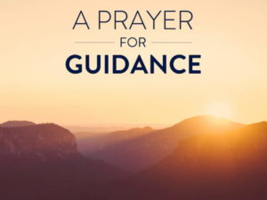Prayer For Your Guidance in Retirement