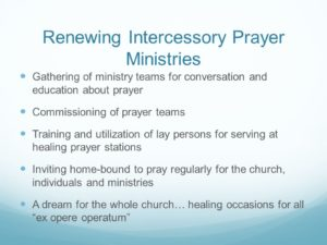 Prayer For Intercessory Groups