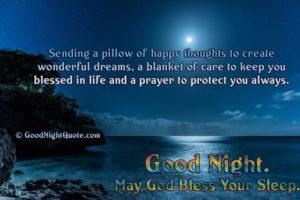 Prayer For A Good Night Sleep
