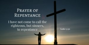 Prayer Of Repentance And Acceptance
