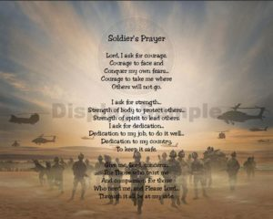 Active Soldier's Morning Prayer