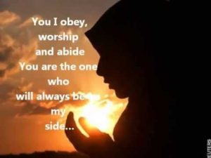 Help me to Abide in You