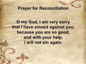 Thanks For Reconciliation With God