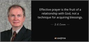 Prayer For A More Spiritual Life