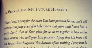 Prayer For Daughters Future Husband