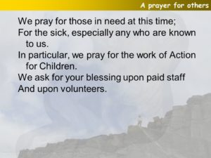 Prayer For All Who Are Out  Of Work