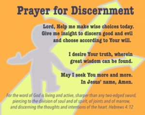 For Discernment To Give Godly Counsel