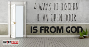 To Be Open To  Discern God's Will And Ways
