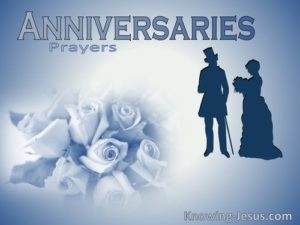 Anniversary Prayer To Grow Love and Unity