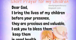 Prayer For Money To Support My Children - Prayever