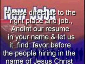 Prayer For A New Job Offer