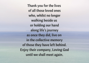 Prayer Of Thanks For Comforting Words