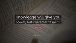 Knowledge from You