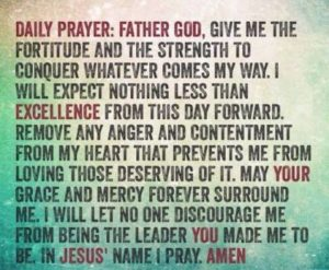 Prayer For Daily Grace And Strength