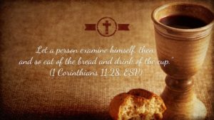 Prayer For The Communion Bread