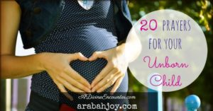 Prayer For My Unborn Grandchild