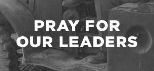 Prayer For Our Government Leaders
