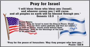 Prayer For Peace in Israel