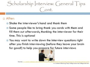 Prayer For Scholarship Interview
