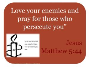 Prayer For Those That Persecute Us