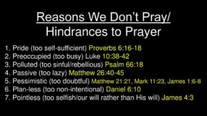 A Prayer To Remove Hindrances To Fruitfulness