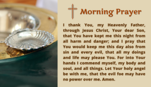 Simple Morning Prayer