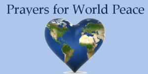 Prayer For Peace In A Hurting World