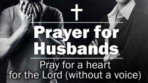 Prayer In Grateful Thanks for my Husband