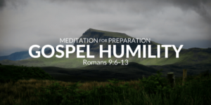 Gospel Seed of Humility